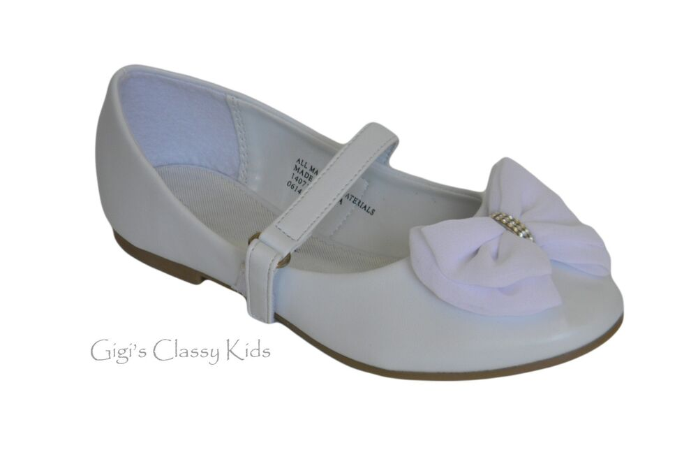Toddler White Dress Shoes Size