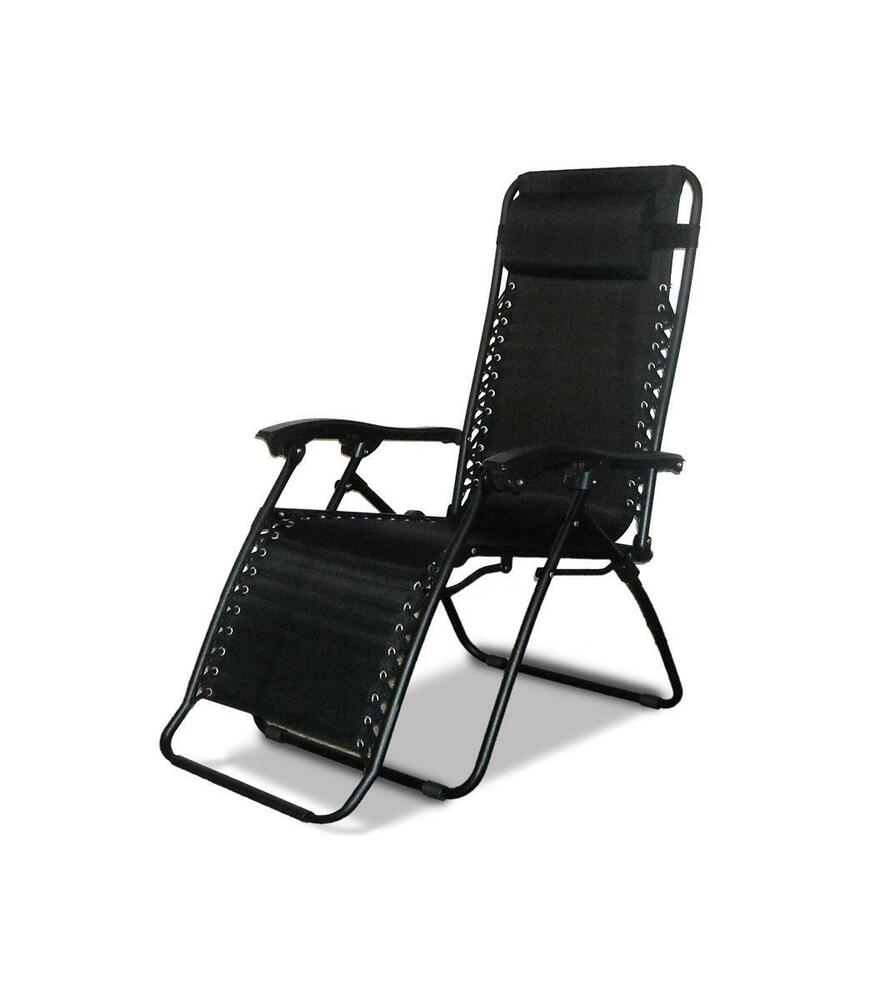 NEW TEXTILENE RECLINING GARDEN CHAIR OUTDOOR PATIO