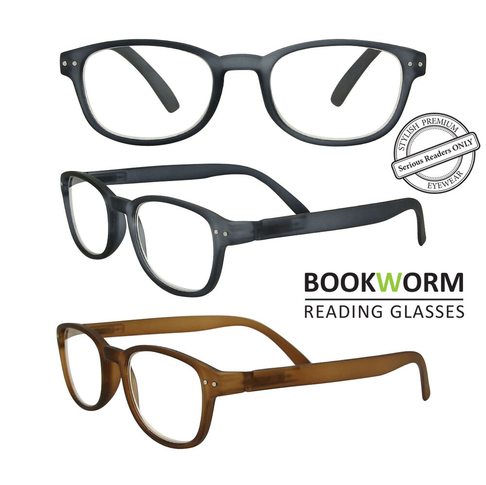 366e57e0c77 Details about Large Strong Wayfarer Reading Glasses Mens Womens +1.00 +1.50  +2.00 +2.50 +3.00