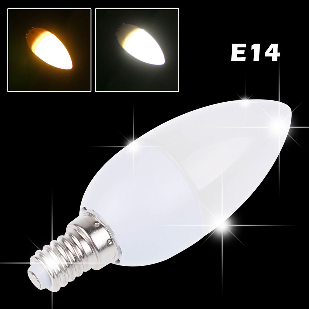warm daylight white e14 e27 9w led candle bulb decorative light lamp chandelier ebay. Black Bedroom Furniture Sets. Home Design Ideas