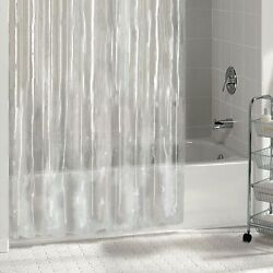 Kyпить 1PC SOLID VINYL BATHROOM SHOWER CURTAIN LINER WITH METAL GROMMETS MANY COLORS  на еВаy.соm