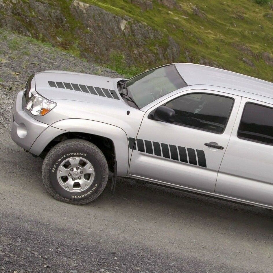 Toyota Trd Pro Truck Toyota TACOMA 2005-2015 graphics side stripe decal model 1 ...