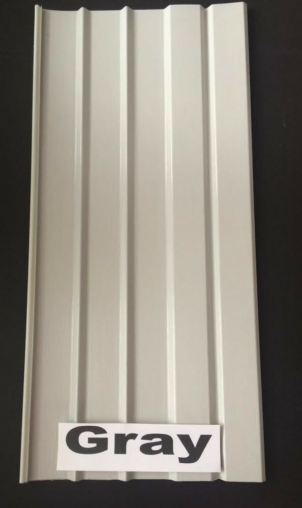 Mobile Home Skirting Vinyl Underpinning Panel Gray 16 Quot W X