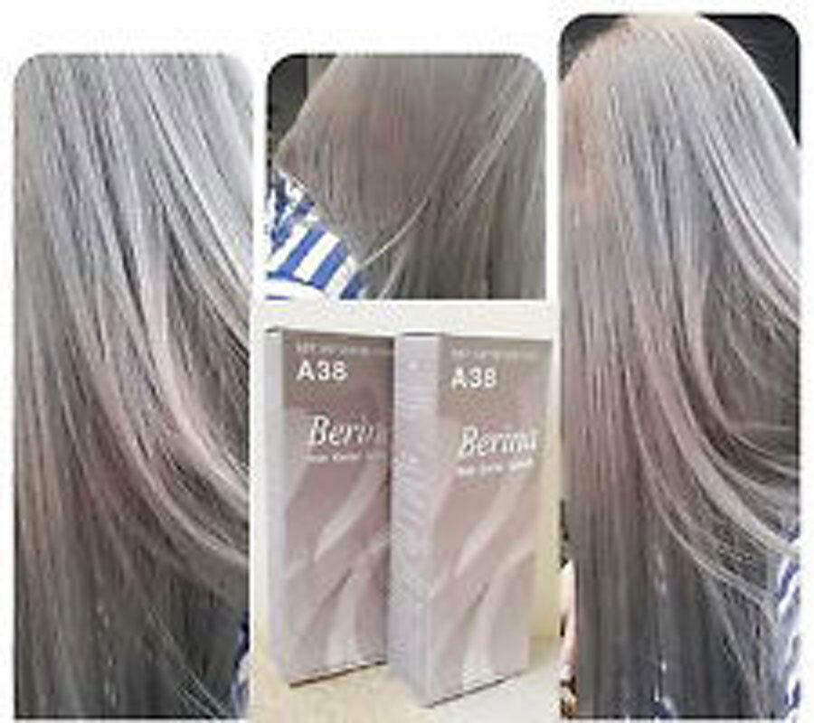 New A.38 Berina Light Ash Blonde color A38 Permanent Hair ...