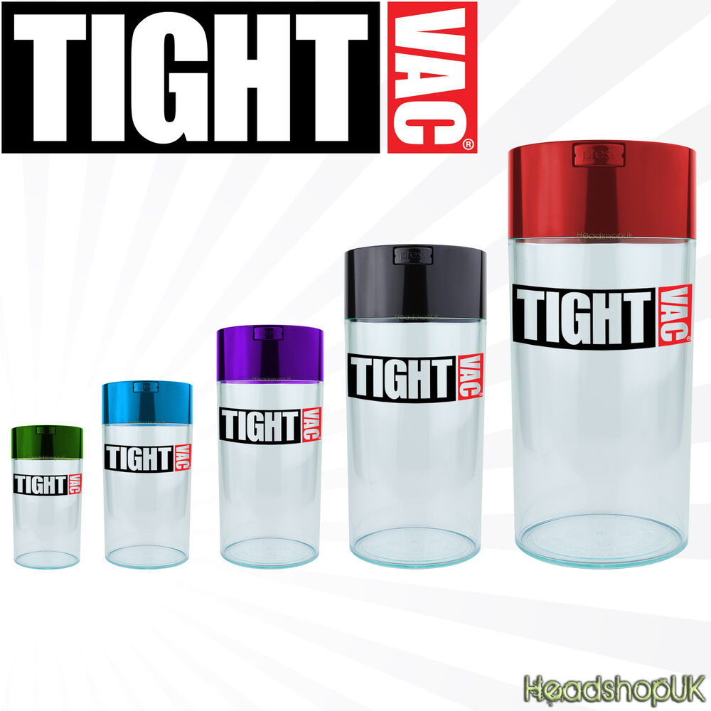Tightvac Vacuum Jars Smell Proof Airtight Container