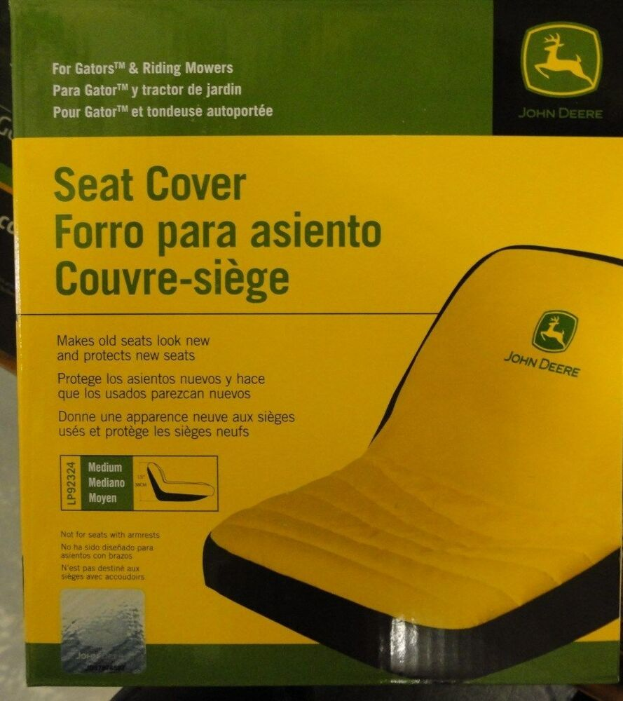 John Deere Seat Cover Lp92324 For Seats Up To 15 Quot High