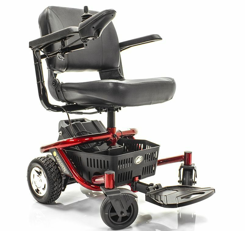 Literider Envy Travel Powerchair Golden Gp162 Extended