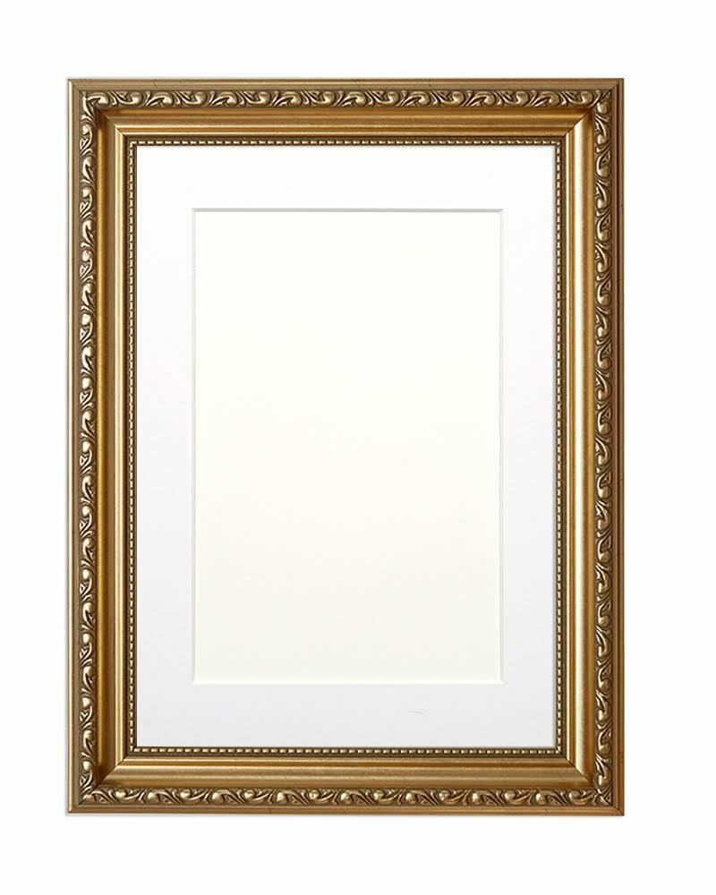 ornate swept picture frame photo frame poster frame with. Black Bedroom Furniture Sets. Home Design Ideas