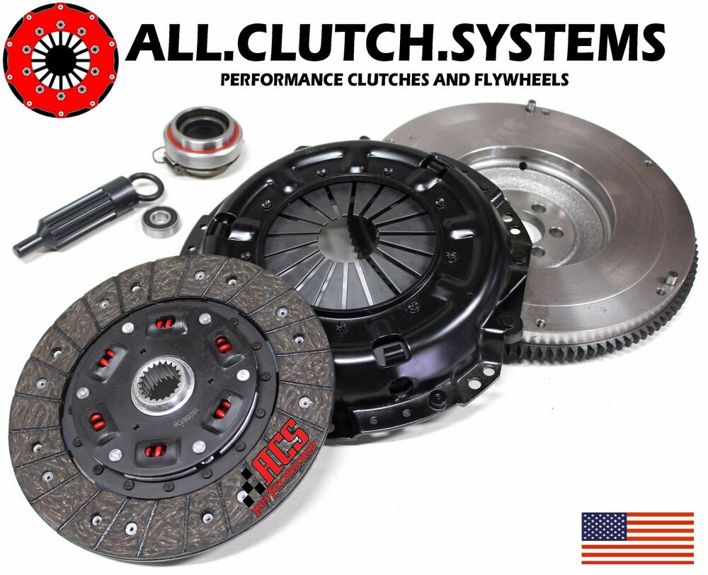Toyota Truck Clutch Replacement : Acs stage clutch kit flywheel toyota pickup