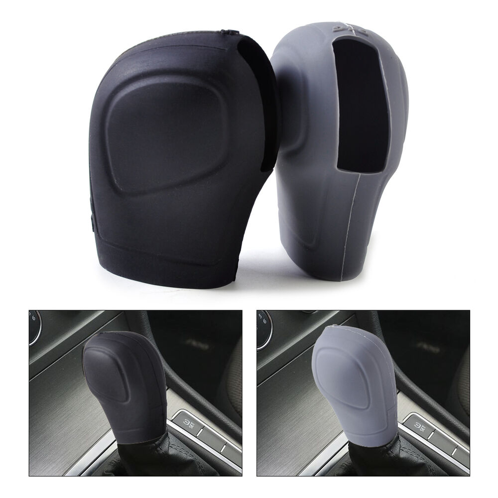 Car Eco Silicone At Shift Knob Gear Stick Cover Protector