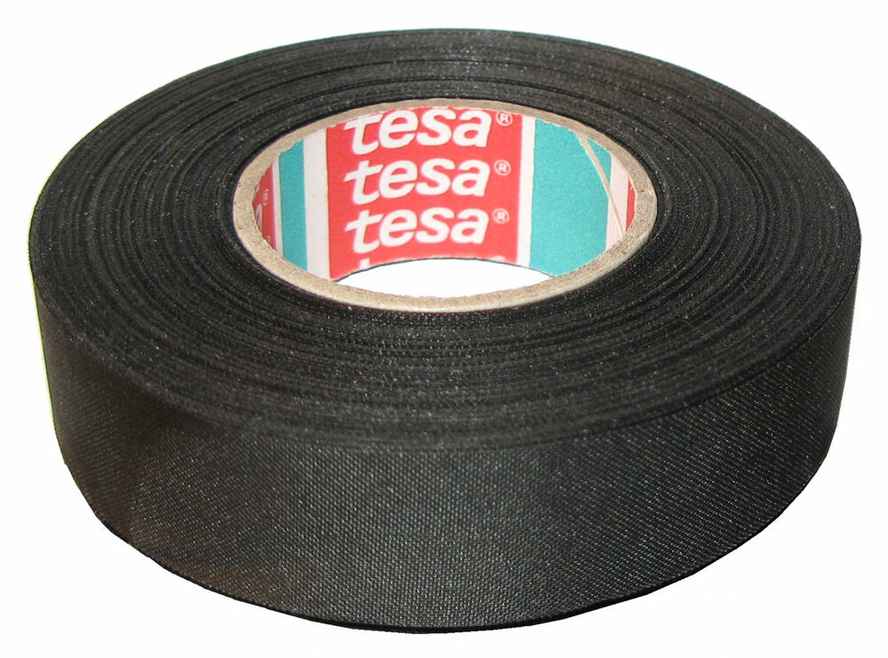 Fabric Wiring Harness Tape : Tesa  quot yds adhesive cloth fabric tape