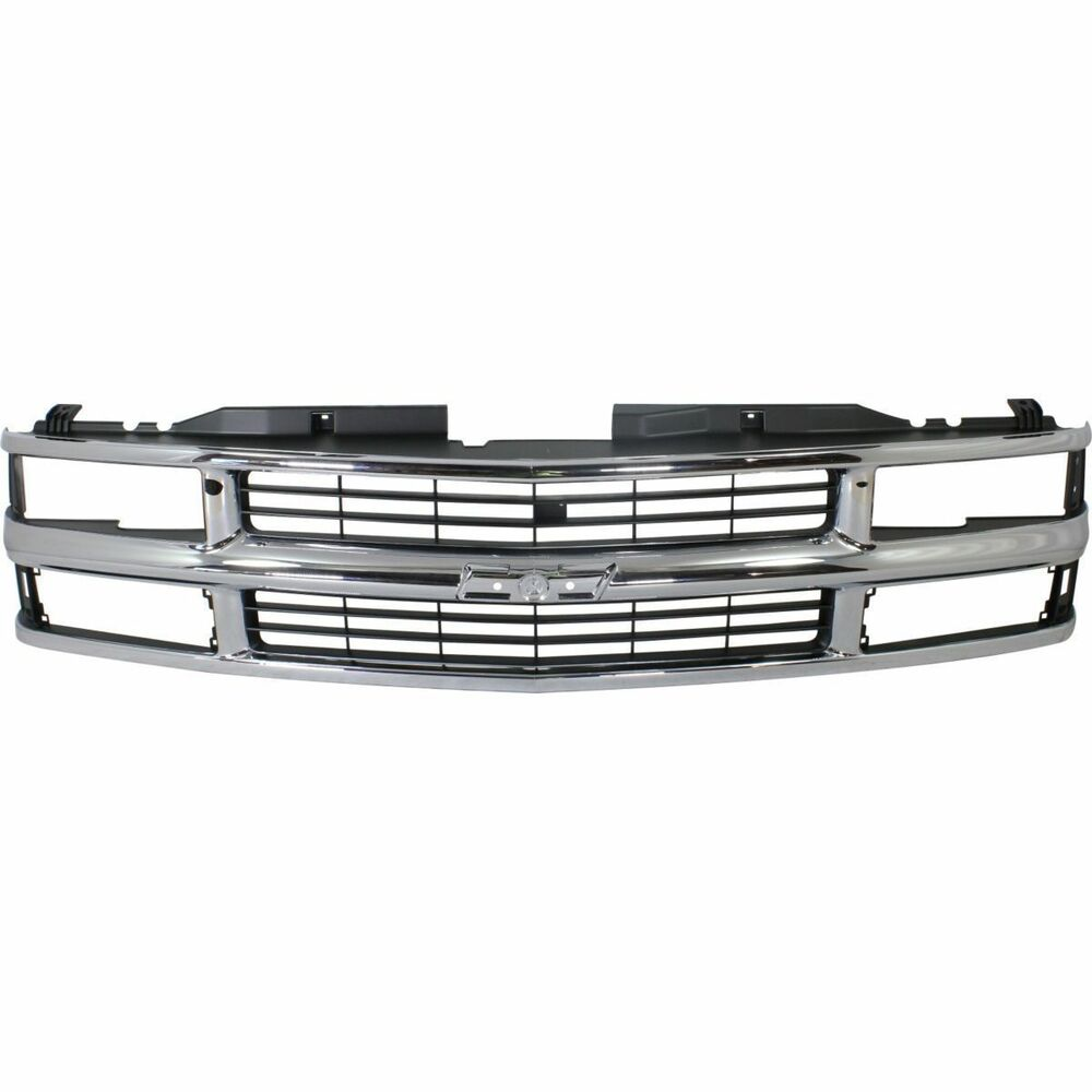 1994 1995 1996 1997 1998 1999 chevy suburban grille chrome. Black Bedroom Furniture Sets. Home Design Ideas