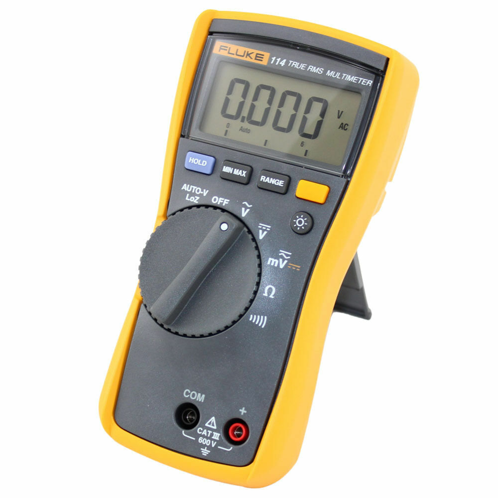 True Rms Meter : Fluke compact electrical true rms digital multimeter