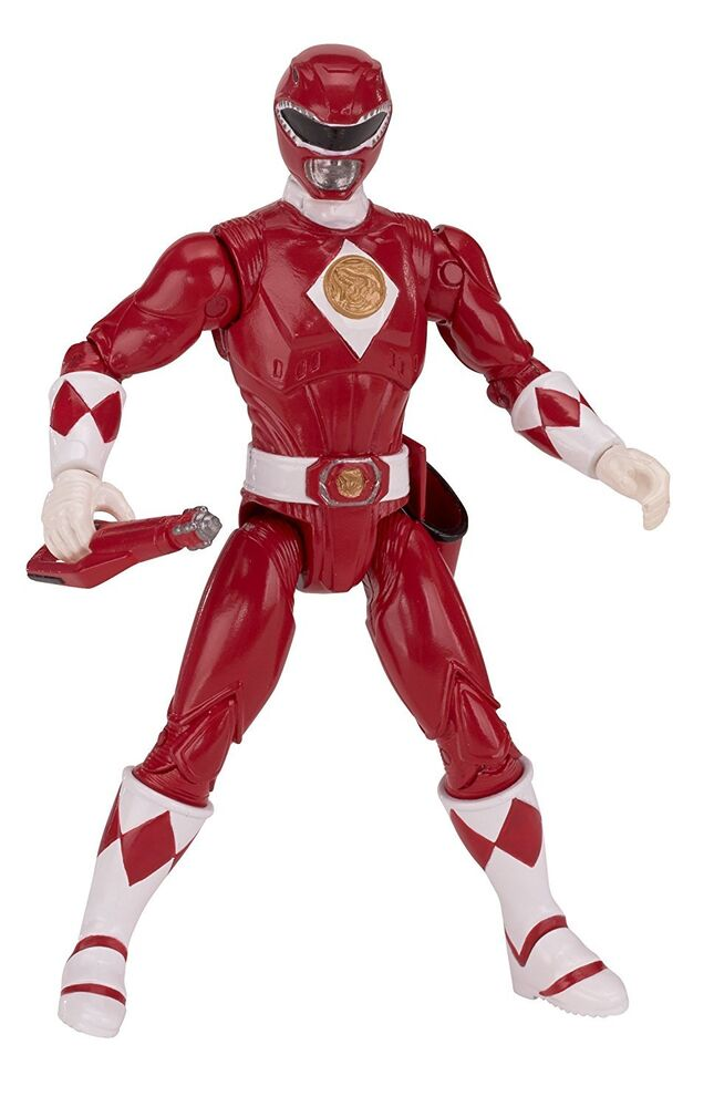 power rangers legacy mighty morphin movie 5 inch red ranger action figure ebay. Black Bedroom Furniture Sets. Home Design Ideas