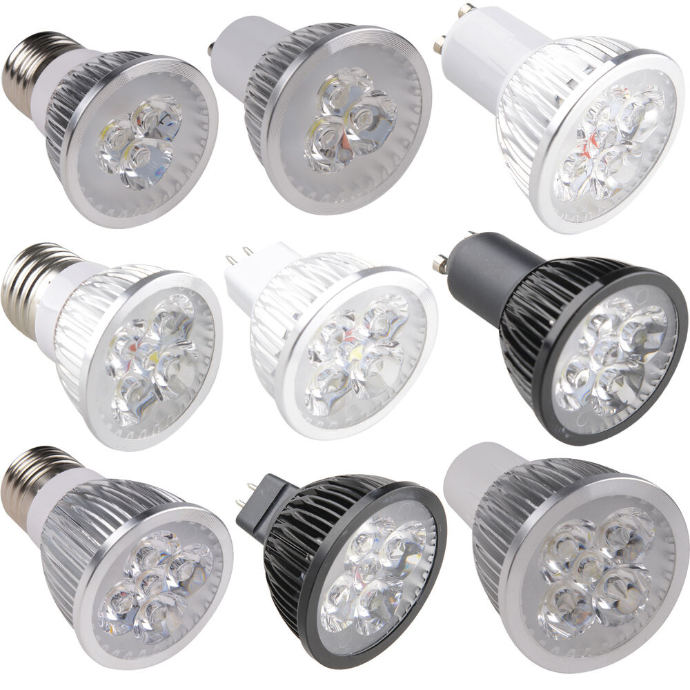 cree epistar 9w 12w 15w mr16 gu10 e27 led spot light lamp warm cool white bulb ebay. Black Bedroom Furniture Sets. Home Design Ideas