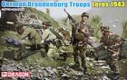 Dragon 6743: 1/35 German Brandenburg Troops Leros '43 (4 Figures)
