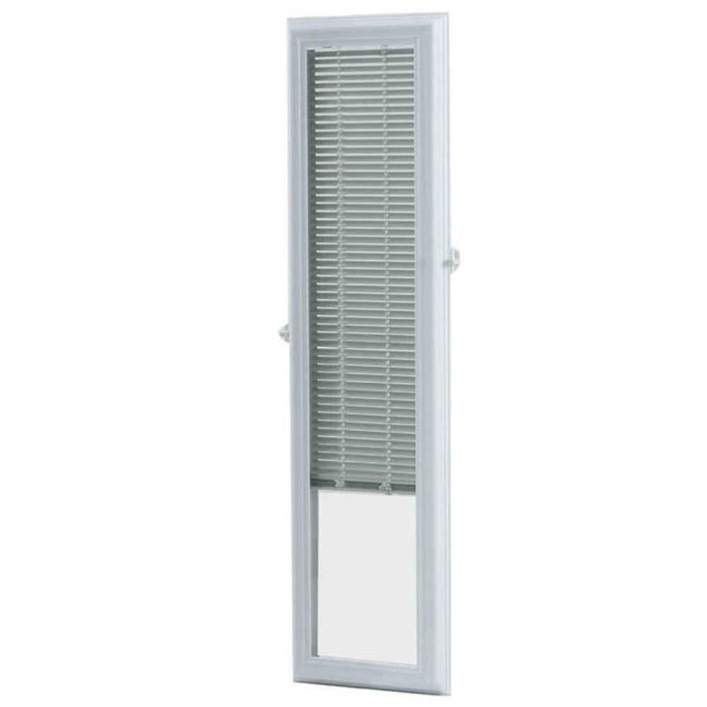 White Cordless 8 Quot X 36 Quot Aluminum Blind Add On Raised Frame