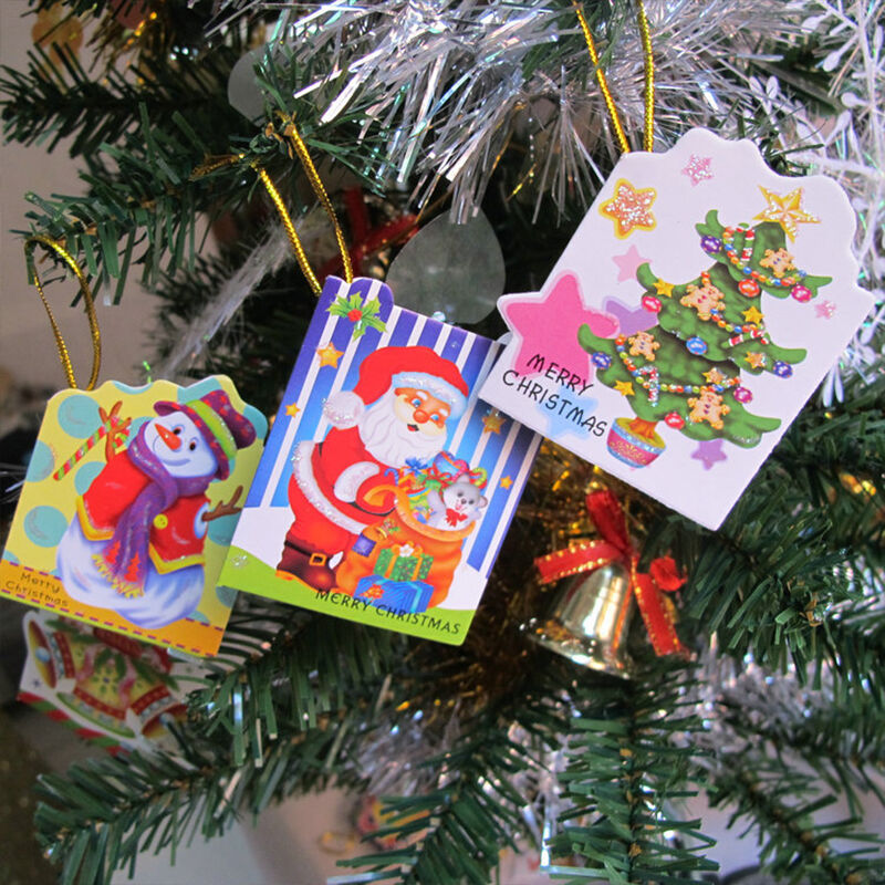 10x popular hot xmas festival christmas tree decorations for Wish decoration