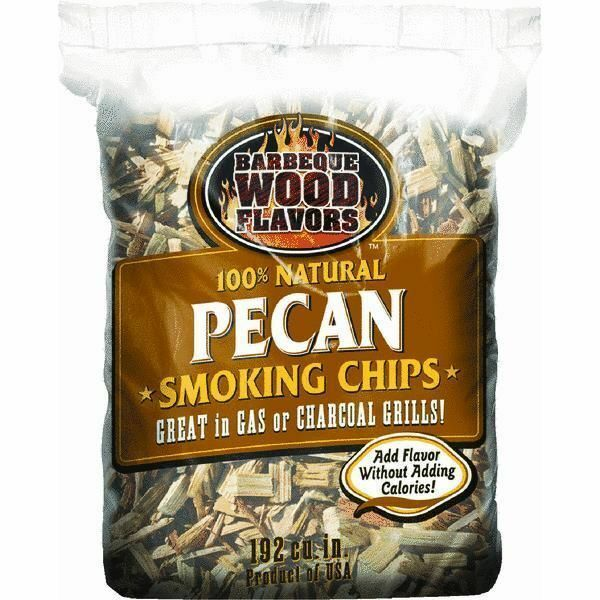 Barbeque wood flavors chips pecan smoker