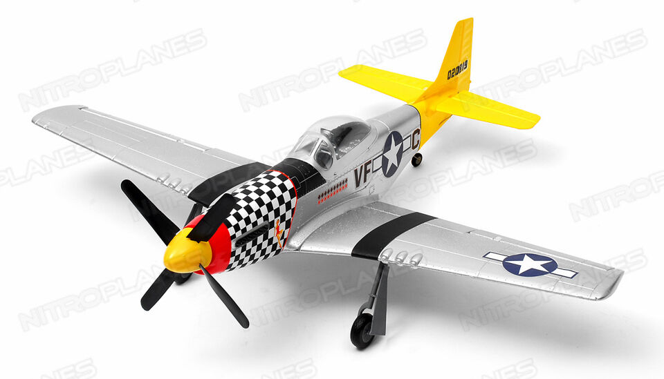Art-tech P-51D Mustang 4 Channel Brushless RTF RC Airplane ...