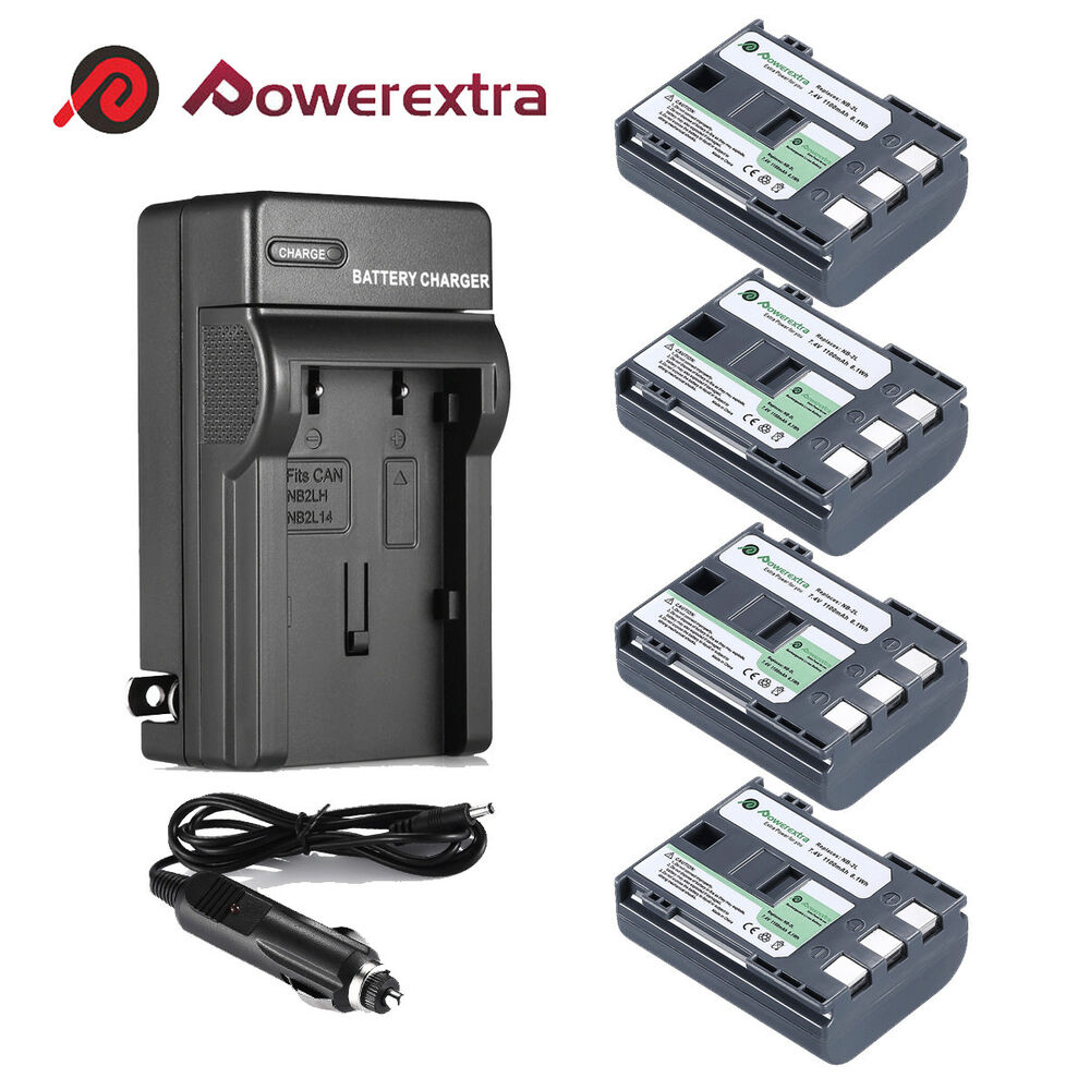 Nb 2lh Nb 2l Battery Charger For Canon Rebel Xt Xti