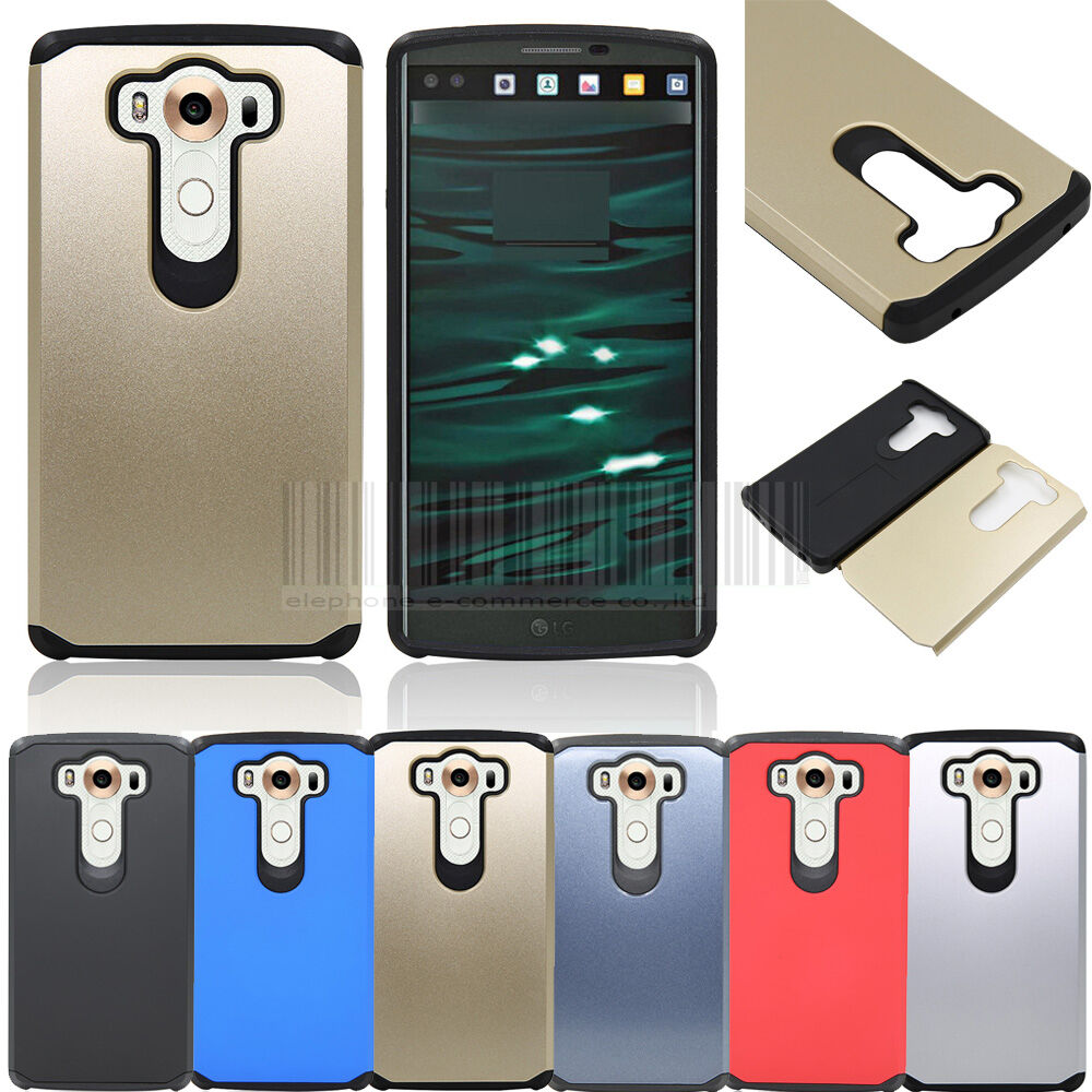 ... Layer Hybrid Rubber Hard Case Shockproof Protective Thin Cover : eBay