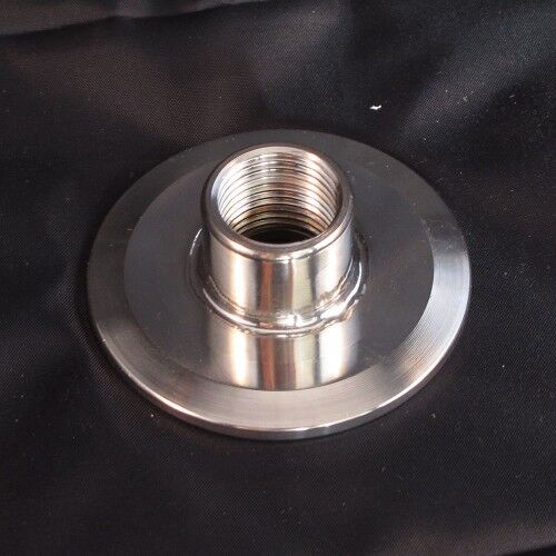 Inch tri clover clamp to female npt