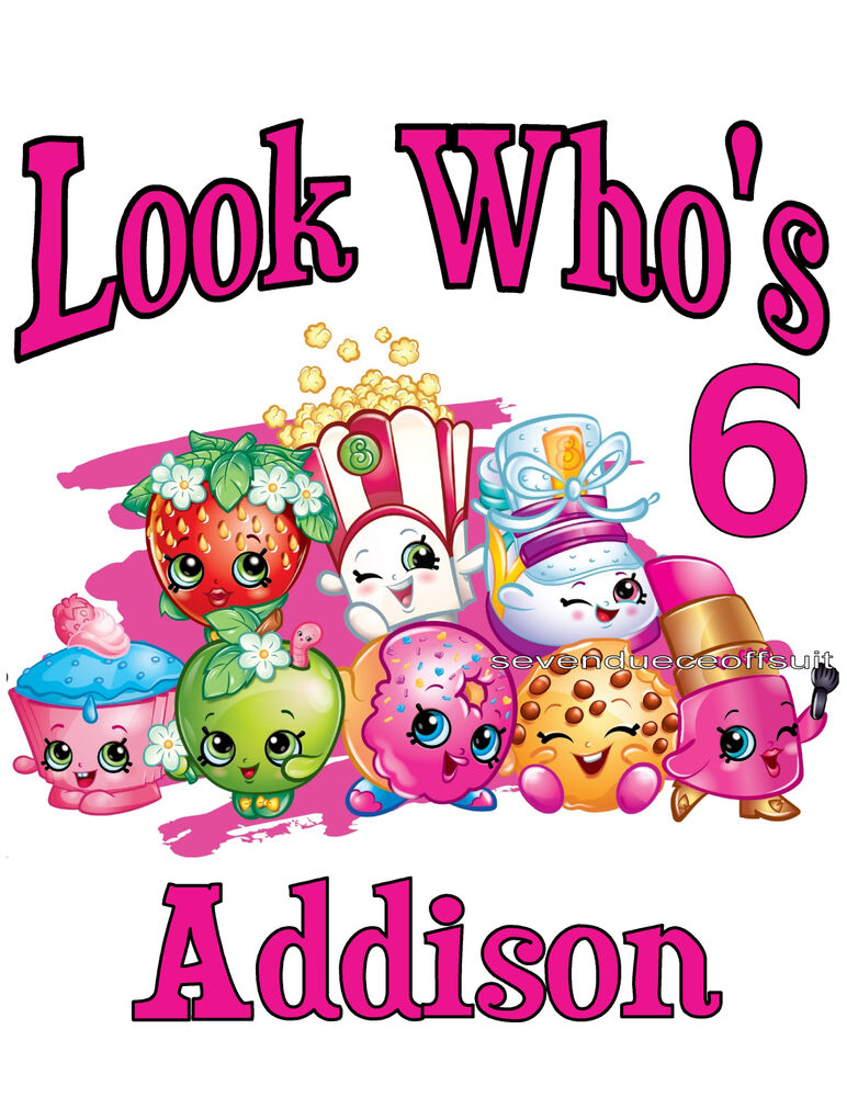 It is a photo of Persnickety Shopkins Birthday Images