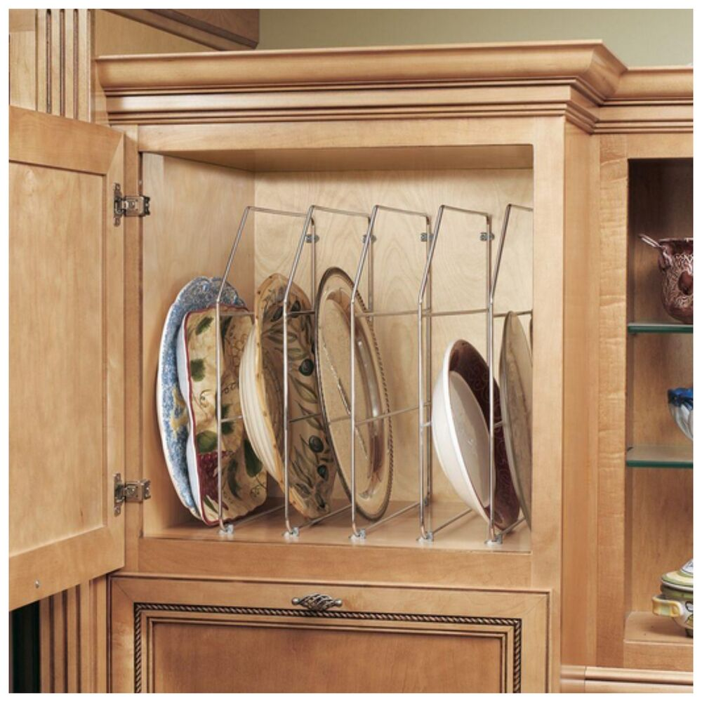 dish organizers in kitchen cabinets rev a shelf kitchen cabinet storage drawer organizer rack 14829