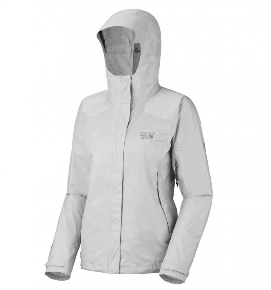 New Mountain Hardwear Epic Dry Women's Rain Jacket Sz XL ...