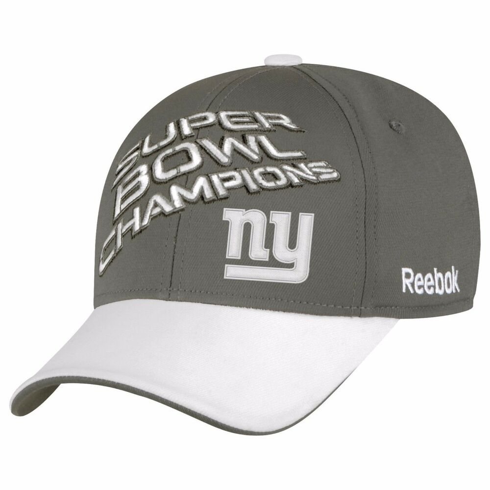 reebok new york giants super bowl 46 xlvi locker room hat. Black Bedroom Furniture Sets. Home Design Ideas