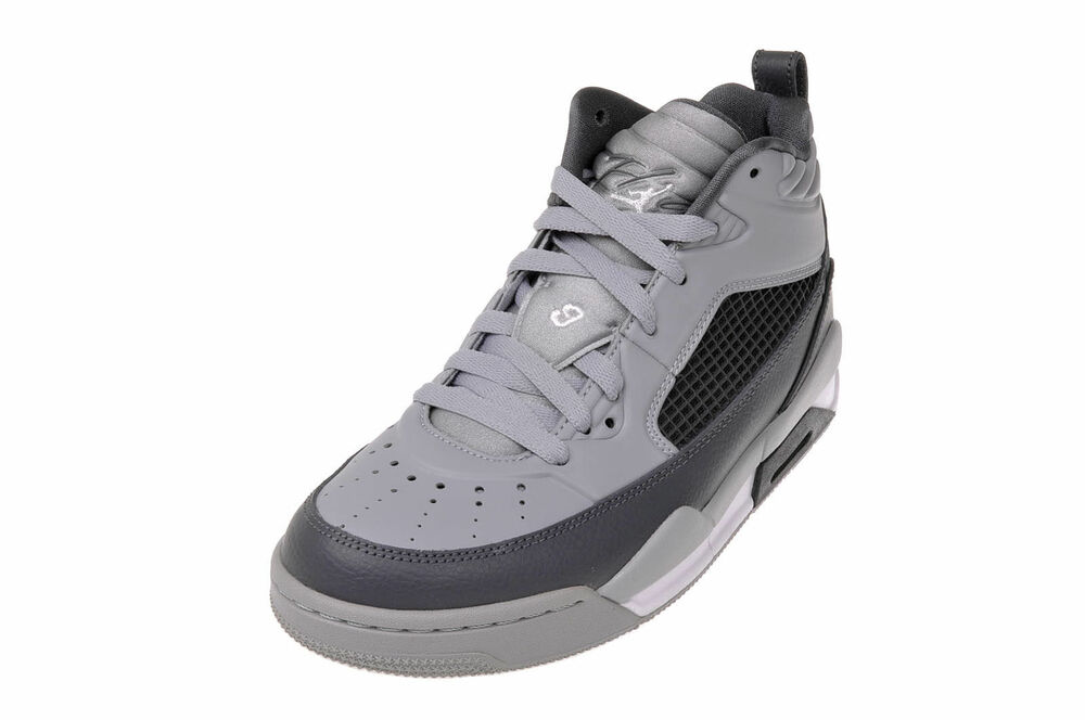 cbbec3cdc9ed6c 654975-006 Nike Air Jordan Flight 9.5 (GS) Wolf Grey White-Dark Grey New In  Box