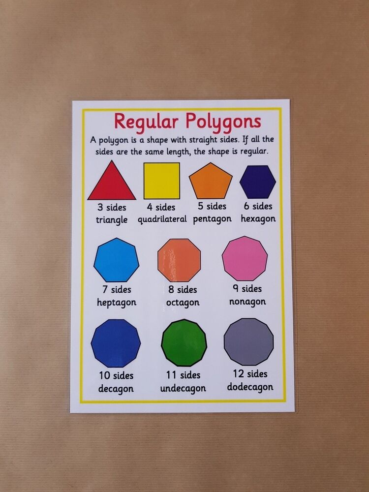 regular polygon Calculates the area, perimeter, angle and number of diagonal lines of a regular polygon given the side.