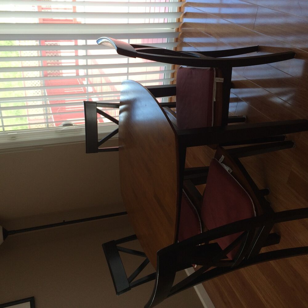 dining room table and chair set ebay cherry dining room set ebay