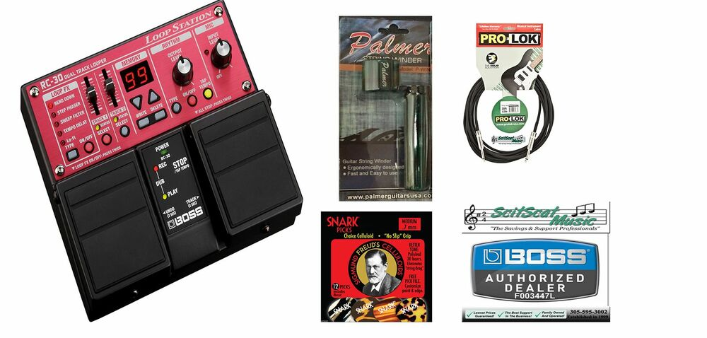 new roland boss rc 30 loop station guitar effects pedal ebay. Black Bedroom Furniture Sets. Home Design Ideas