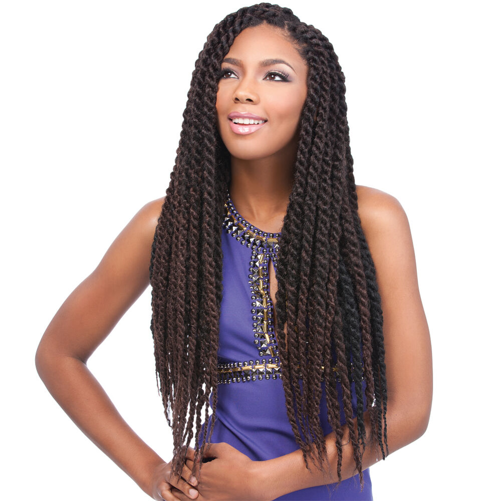 Jamaican Locks Braids 26 & 44inch * Crochet Braids Twist/Kinky hot ...
