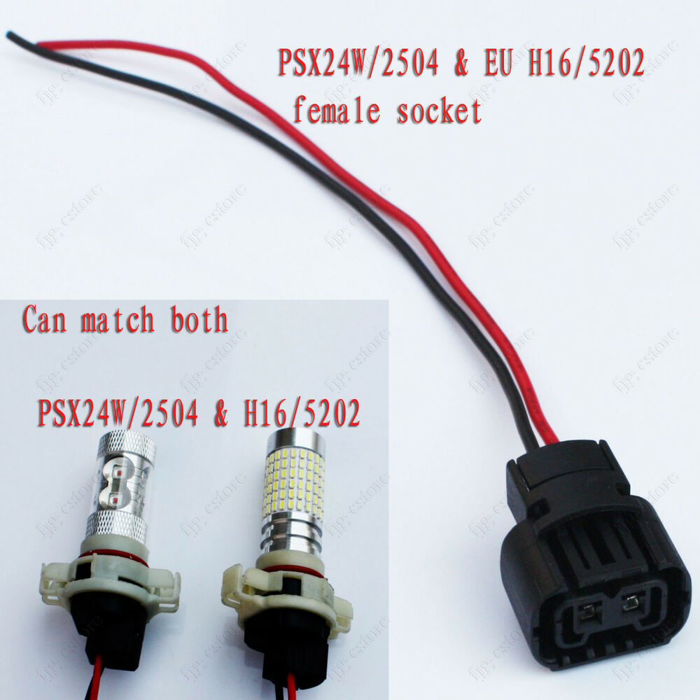 psxw female bulb socket relay base outlet replace plug connector ebay