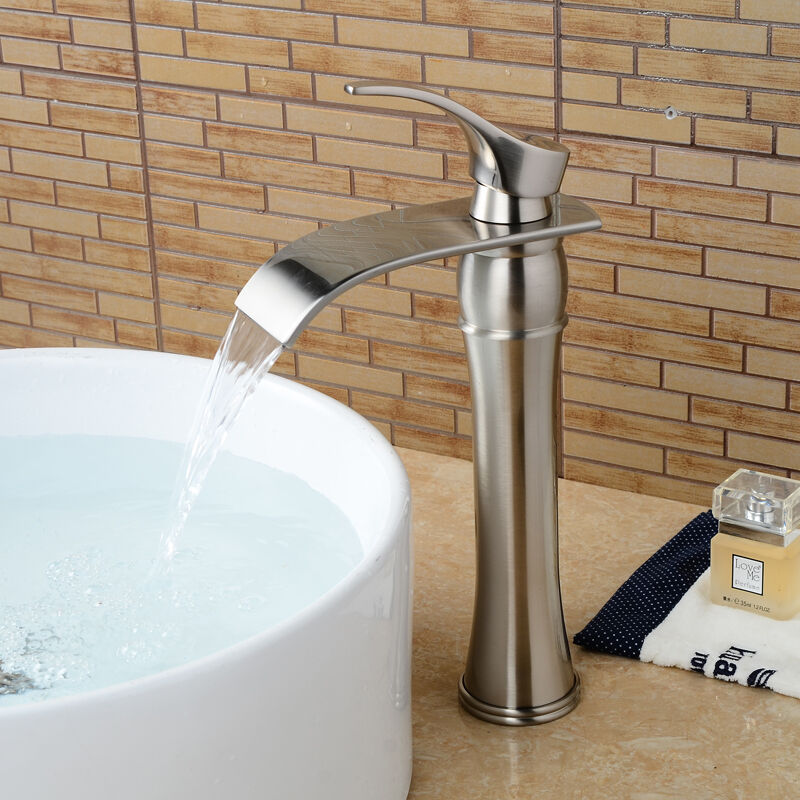 12 waterfall bathroom faucet chrome brushed nickel oil rubbed bronze