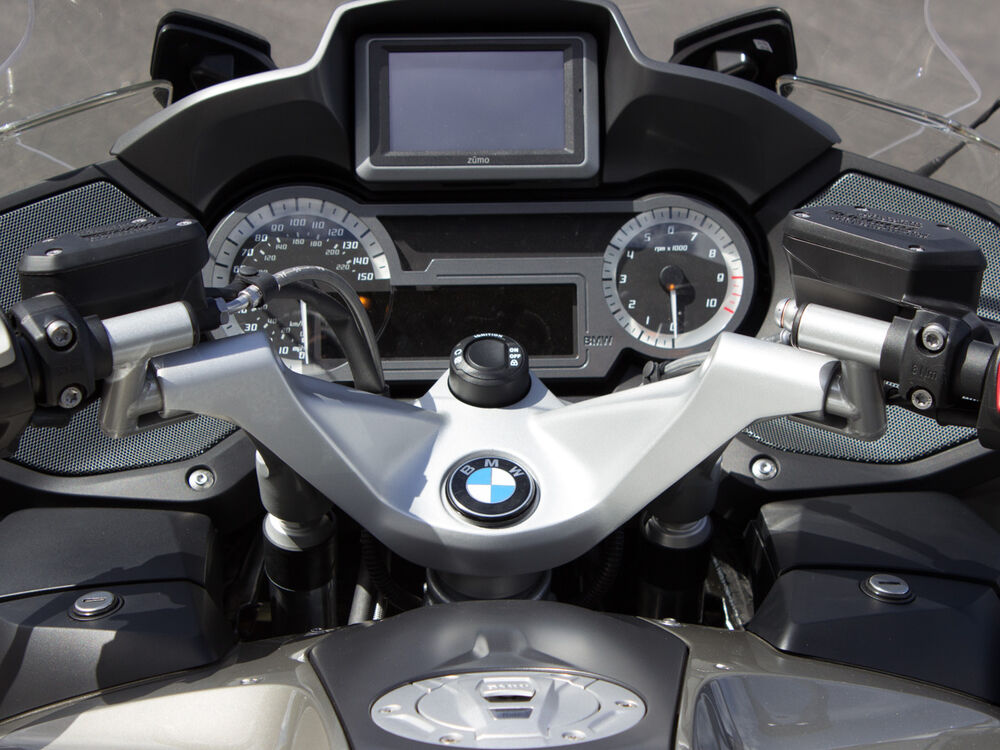 helibars handlebar risers for bmw r1200rt lc ebay. Black Bedroom Furniture Sets. Home Design Ideas