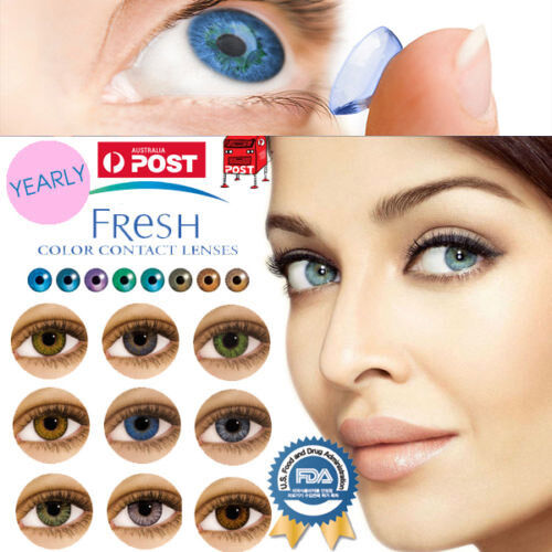 Fresh Coloured Contact Lenses Kontaktlinsen Color Contact