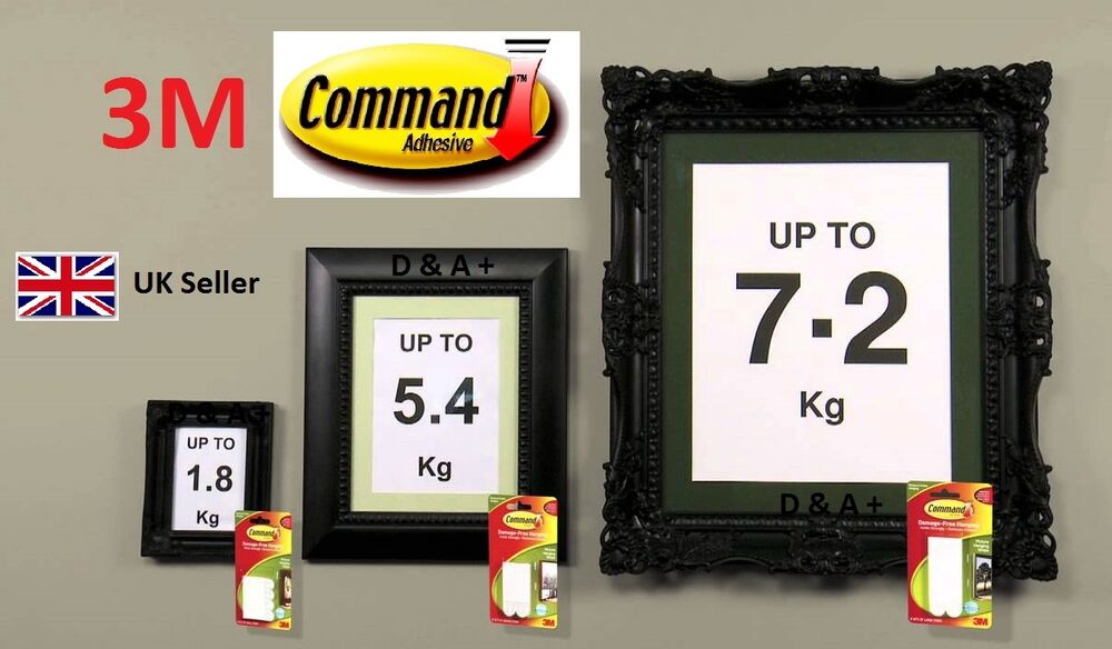 3m Command Large Medium Small Adhesive Strips Damage Free