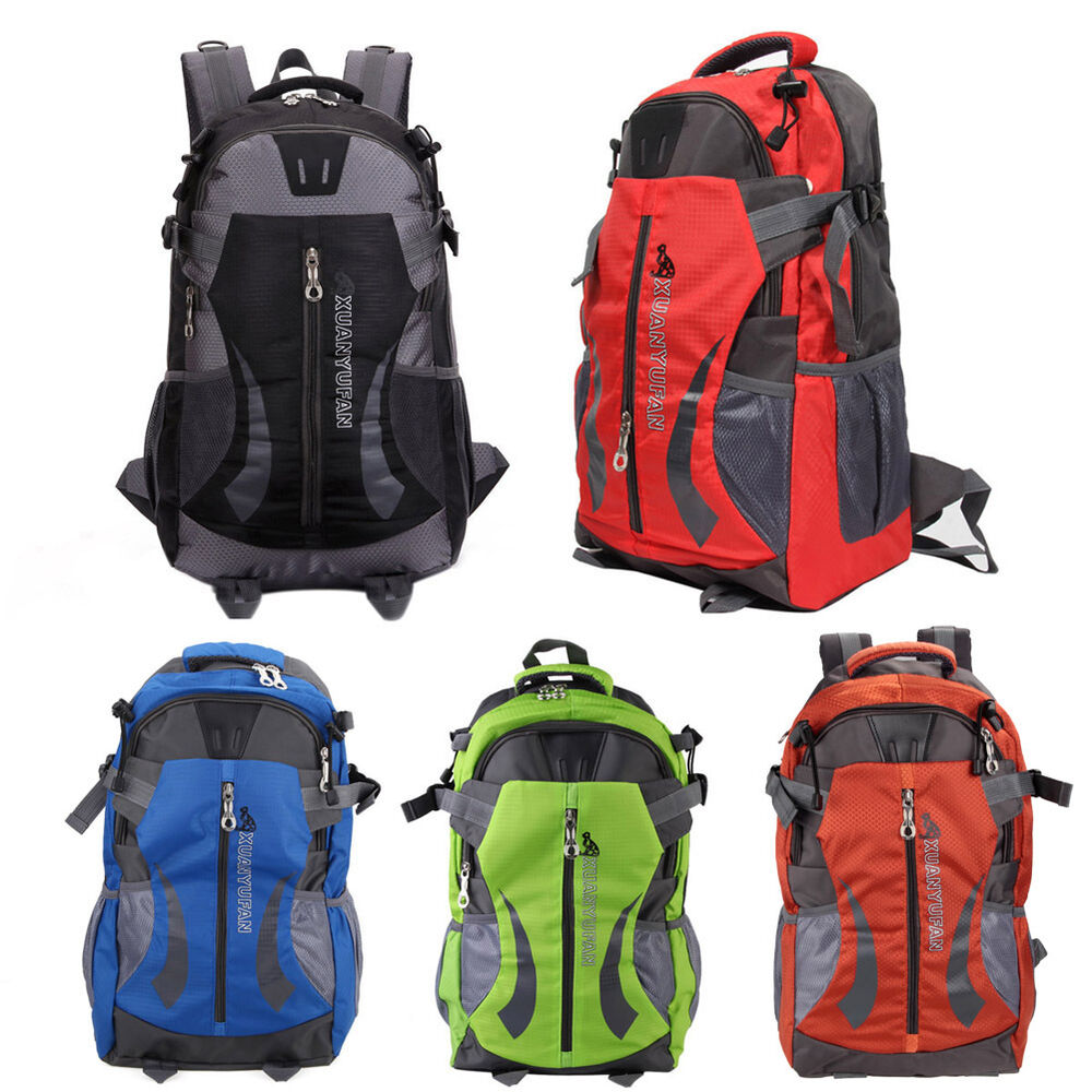 Outdoor backpack unisex hiking camping waterproof travel for Outdoor rucksack