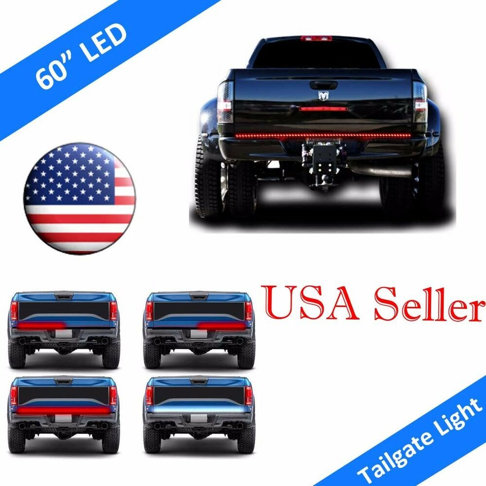 60 quot 5 function tailgate bar led brake signal light truck suv jeep ebay