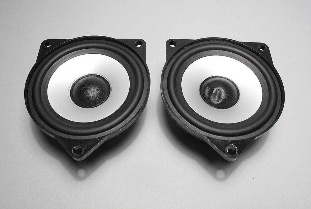 Bmw Z4 X3 Top Hifi Dsp Audio Mid Range Door Speaker Driver