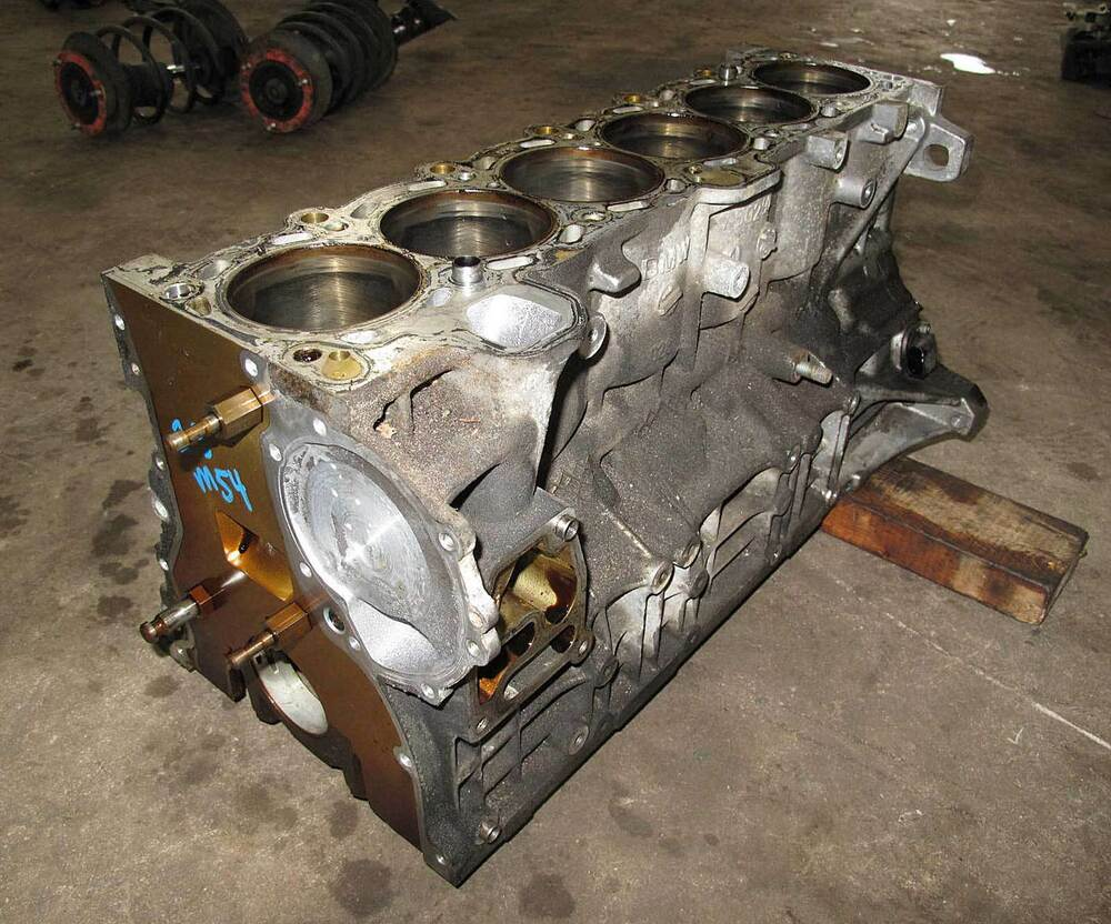 Bmw M54 6 Cylinder 2 5l Engine Cylinder Block Bare 2001 2006 E39 E46 E60 Z3 Used Ebay