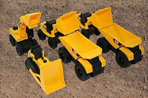 Construction Site Toys : Construction site equipment sandbox garden toy cat