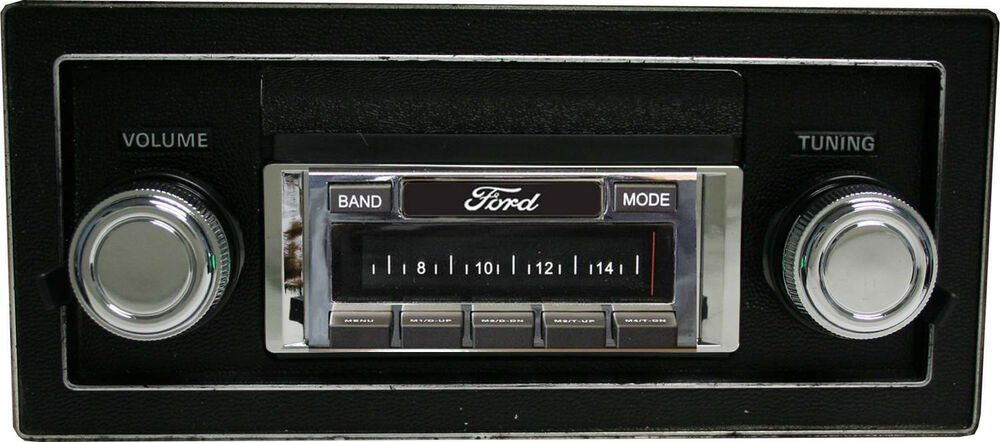 New F150 Ford Trucks >> Bluetooth Enabled 1973-1979 Ford Truck 300 watt AM FM Stereo Radio iPod, USB | eBay