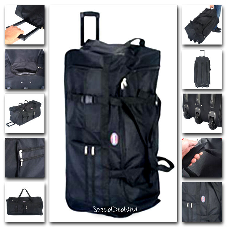 Durable Large 36 Quot Rolling Wheels Bag Luggage Tote Duffle