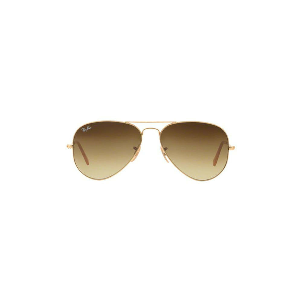 Rb3025 Aviator Sunglasses Gold Frame Crystal Gradient Bl : New Ray Ban Aviator Sunglasses RB3025 Gold Metal 112/85 ...