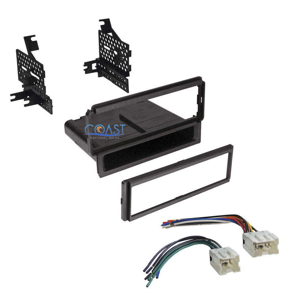 car radio stereo dash kit harness for 2005 12 nissan frontier pathfinder xterra ebay